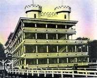 lowry hotel postcard, bath beach, brooklyn